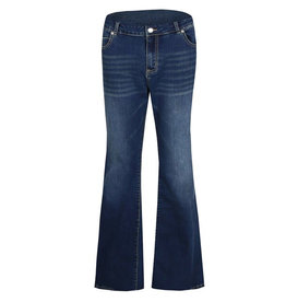 Exxcellent Jeans Puck flared Blue Curvy
