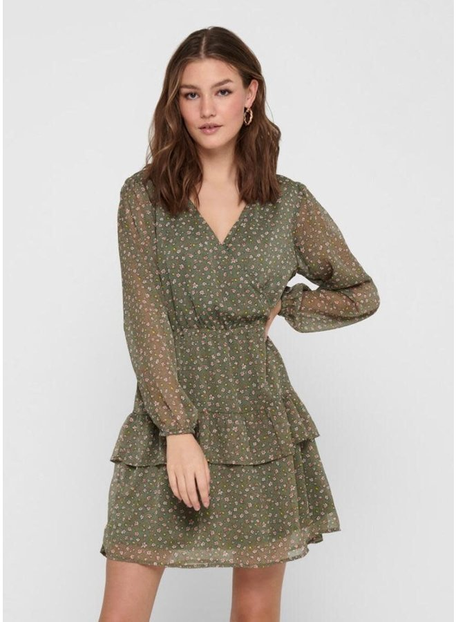 DRESS PENELOPE GREEN