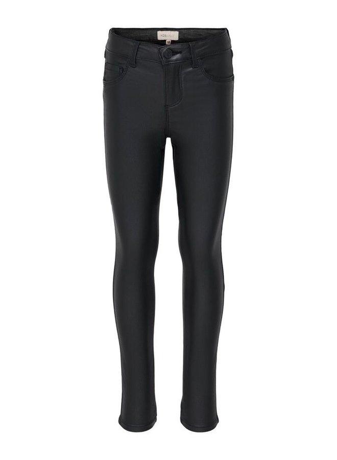 PANTS COATED  BLACK