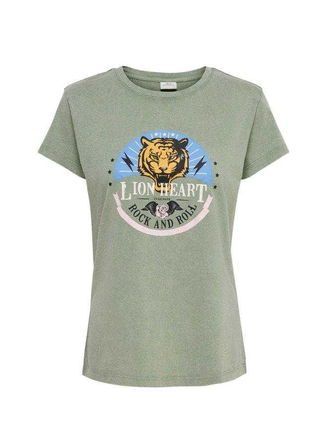 T-SHIRT LION HEART