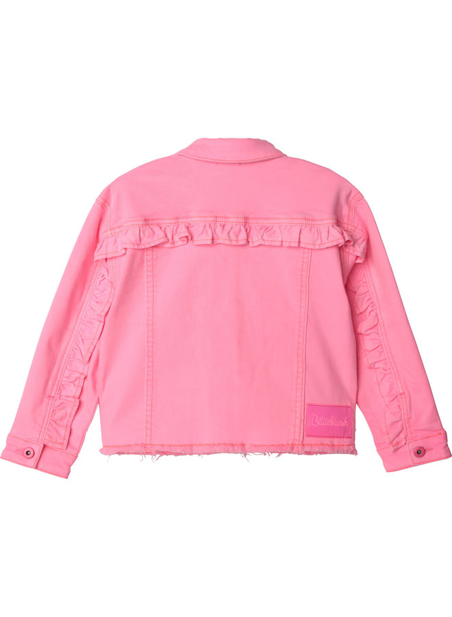 JACKET PINK BOW