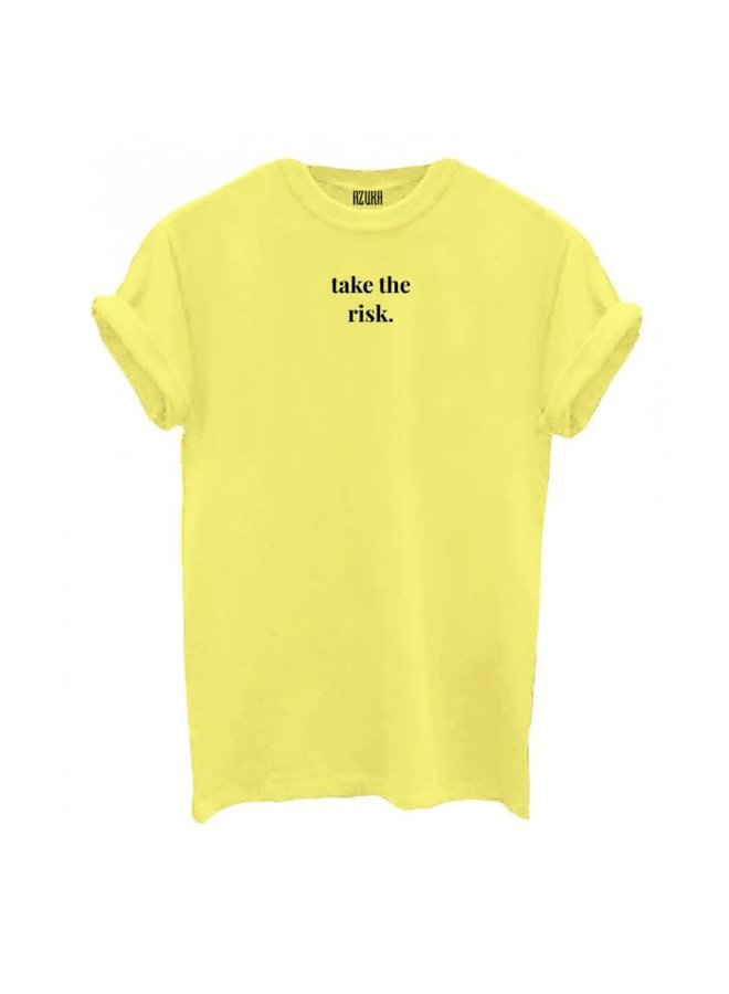 T-SHIRT TAKE THE RISK