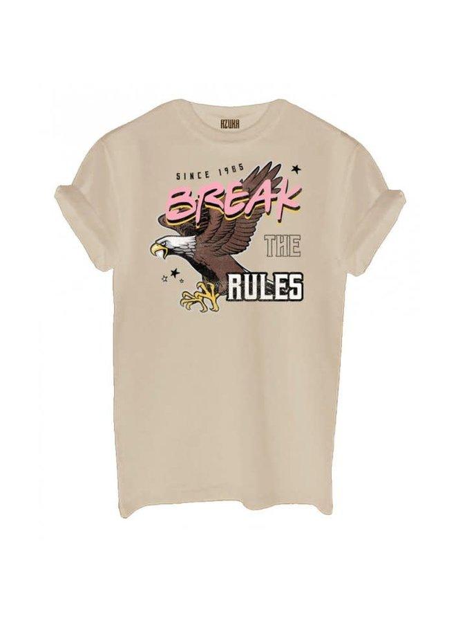 T-SHIRT BREAK THE RULES