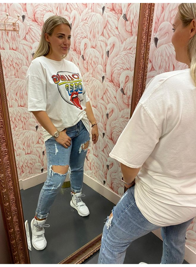 T-SHIRT DRESS STONES
