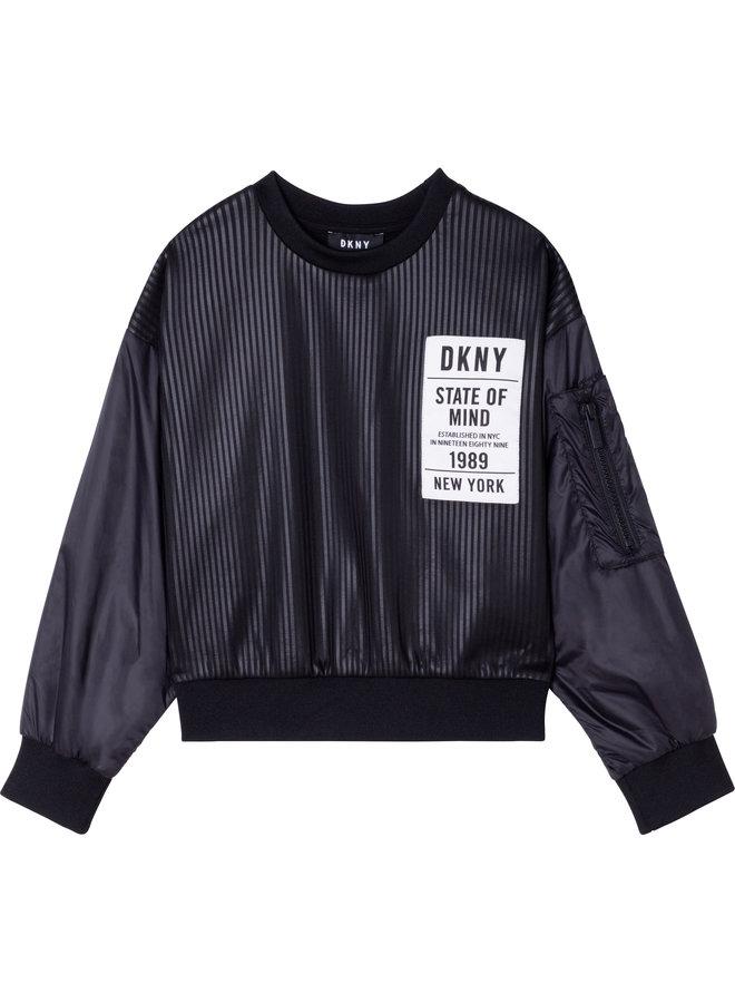 SWEAT SHIRT STATE DKNY