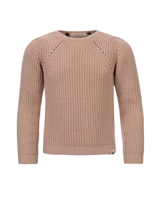 KNITTED PULLOVER HUSHED