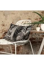 Kussen Ibiza zwart 35 x 50 cm
