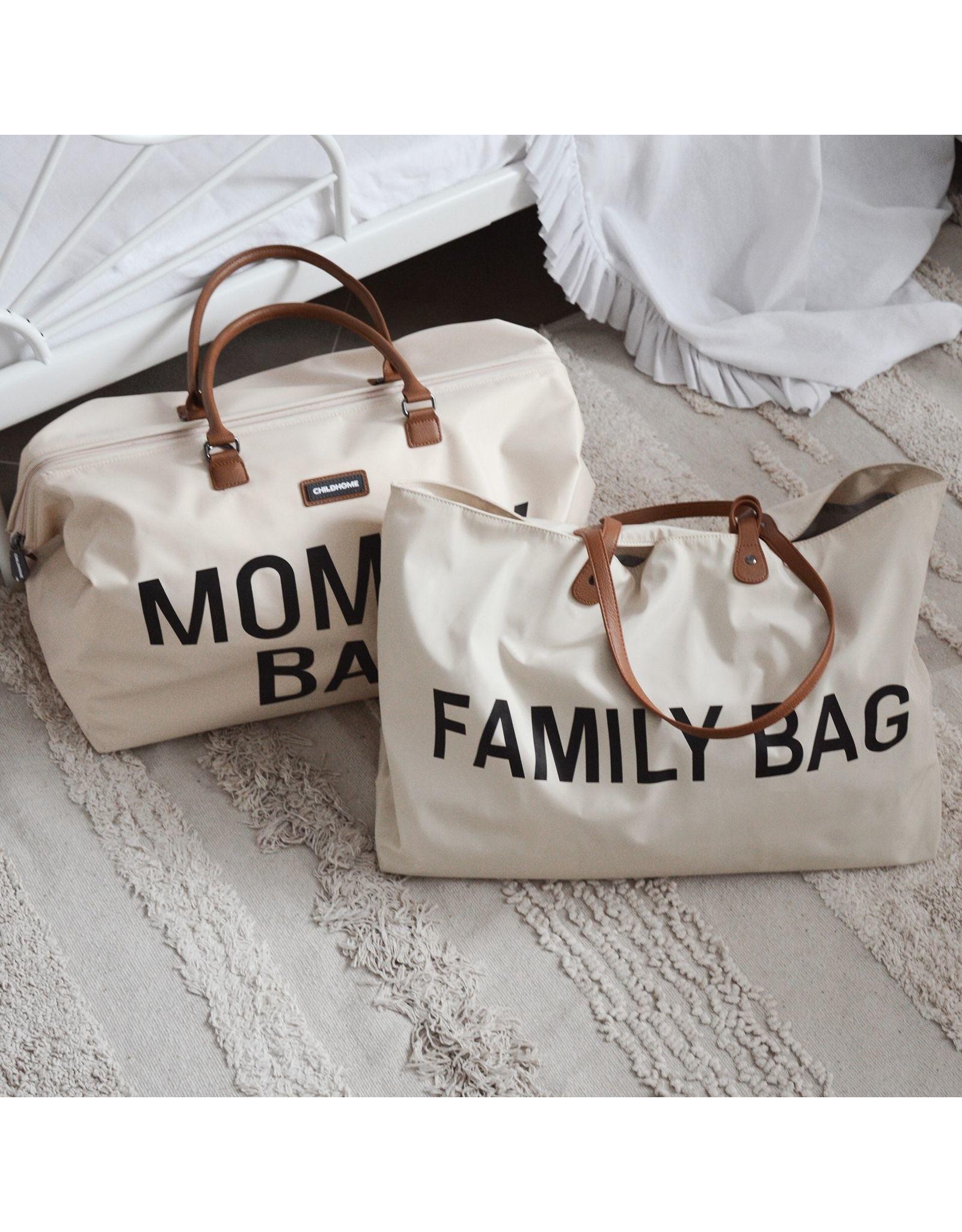 Mommy Bag ecru zwart