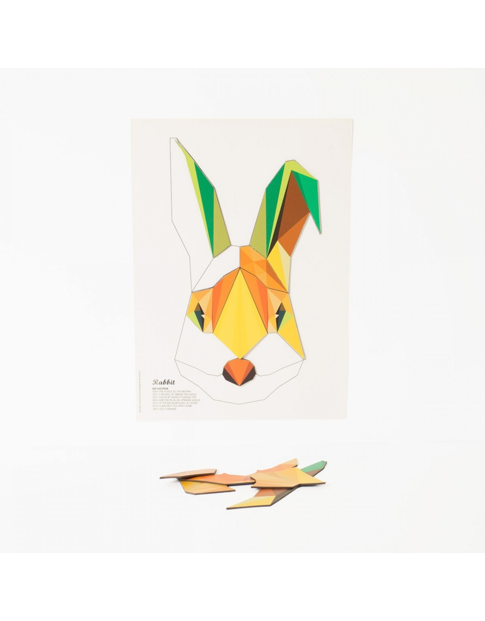 Magneetpuzzel konijn