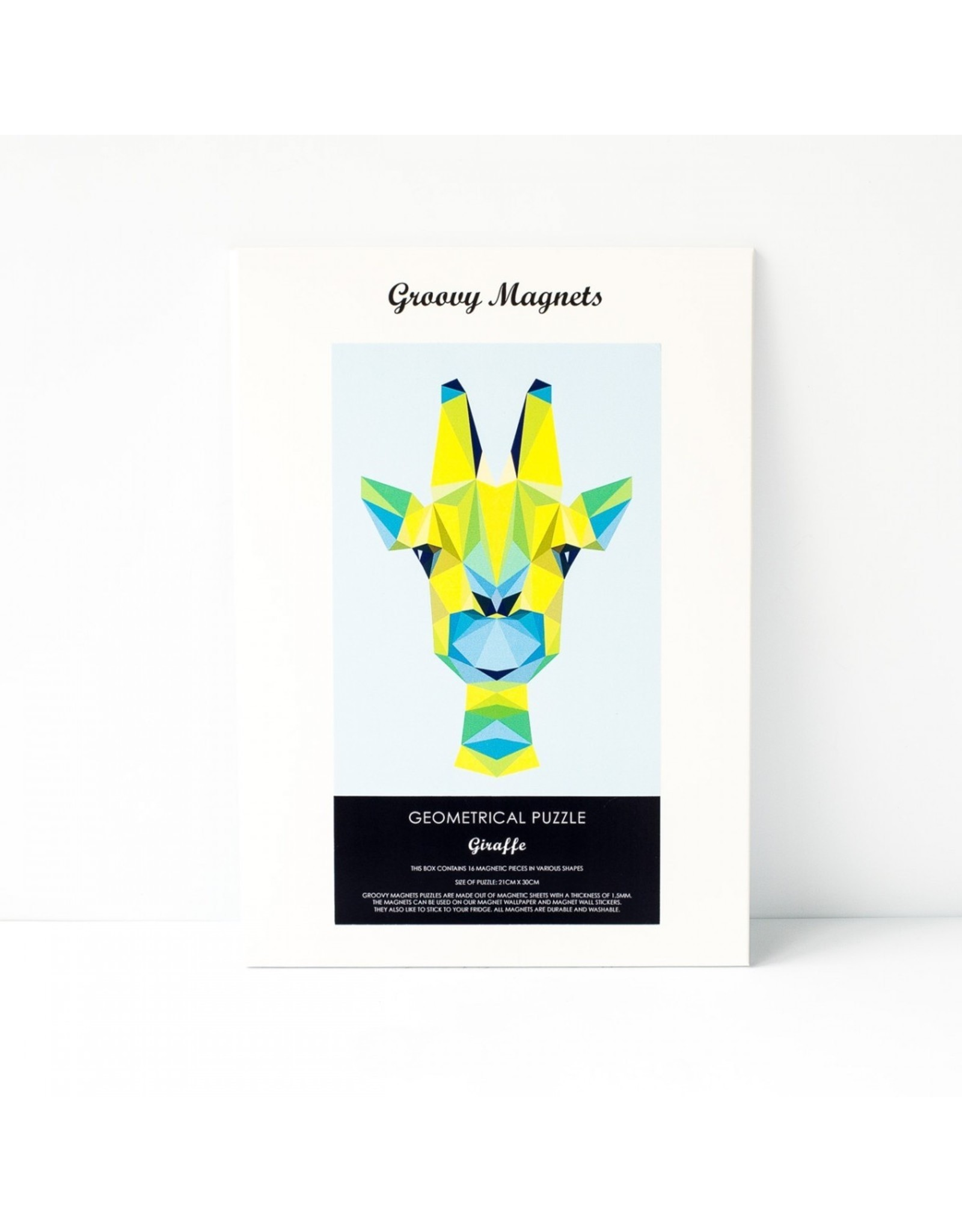 Magneetpuzzel giraf