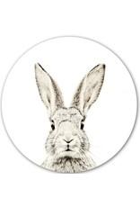 Magneetsticker konijn dia 60cm
