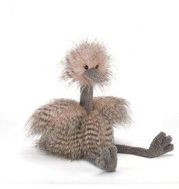 Knuffel Odette struisvogel