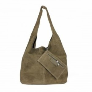 Hobo shopper taupe
