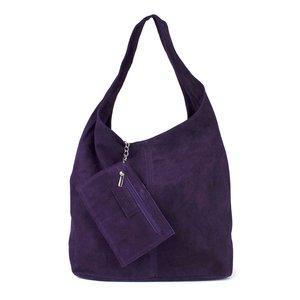 Hobo shopper paars