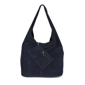 Hobo shopper donkerblauw