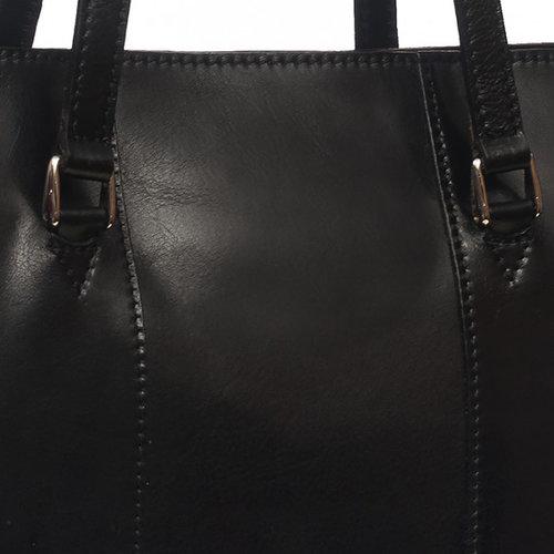 Zwarte chique schoudertas / businesstas