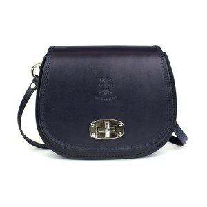 Donkerblauwe saddle bag