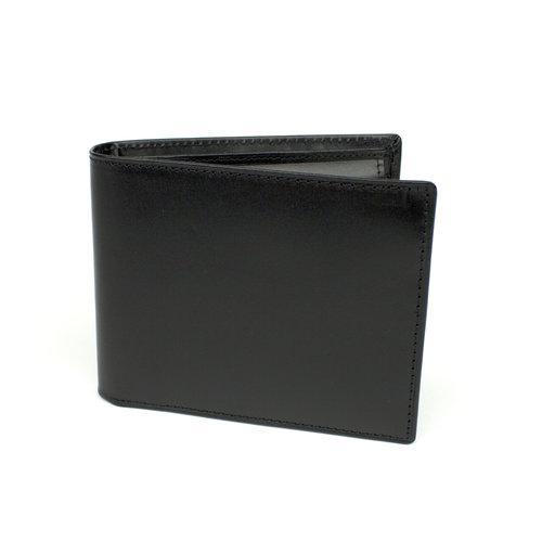 Heren portemonnee zwart leer