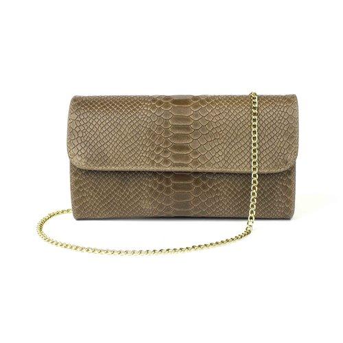 Goudkleurige schouderketting voor je tas