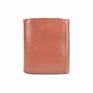 Portemonnee voor muntgeld,  cognac