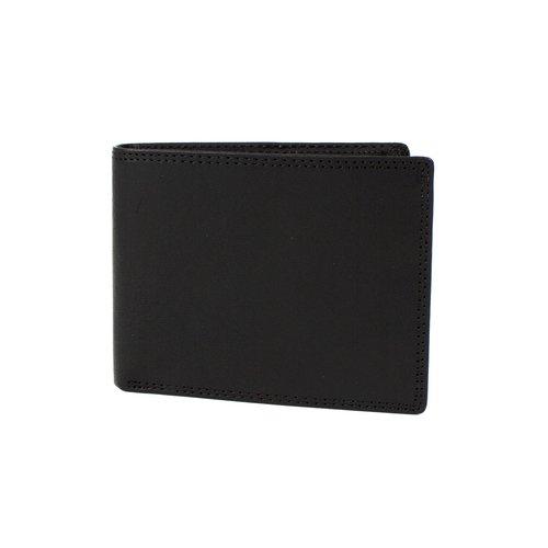 Heren portemonnee mat zwart