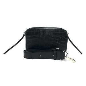 Box schoudertasje zwart