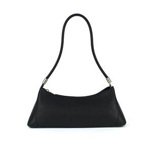 Zwarte baguette tas