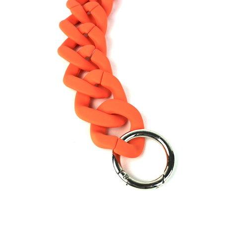 Acryl tasketting 60 cm mat oranje