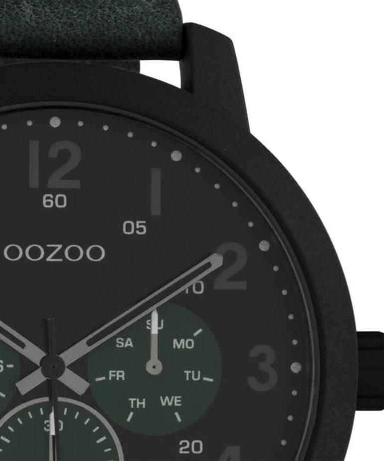 Oozoo Timepieces Oozoo Horloge C10508 Zwart