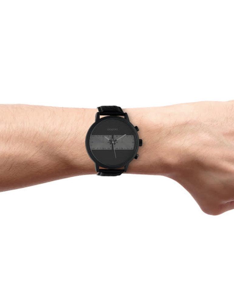 Oozoo Timepieces Oozoo Horloge C10519 Zwart