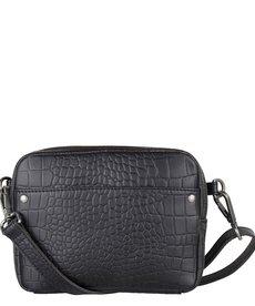 Cowboysbag Bag Bobbie Croco Black