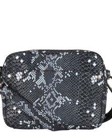 Cowboysbag Bag Bobbie Snake Black/White
