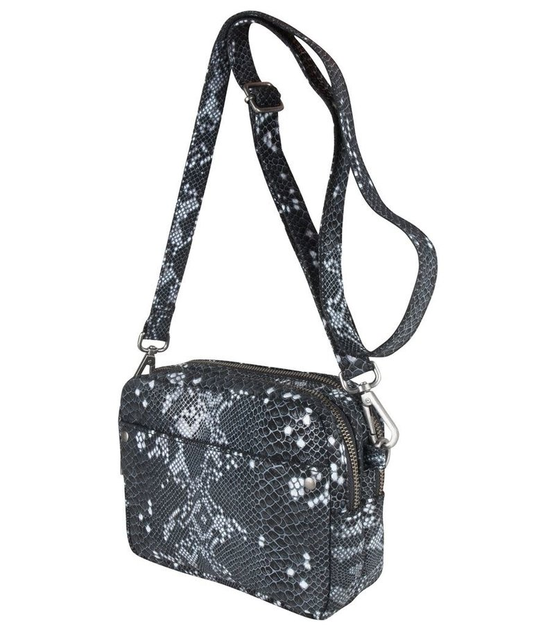 Cowboysbag Cowboysbag, Bobbie Snake Black/White