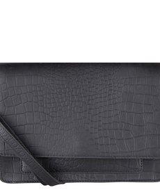 Cowboysbag Bag Onyx Croco Black