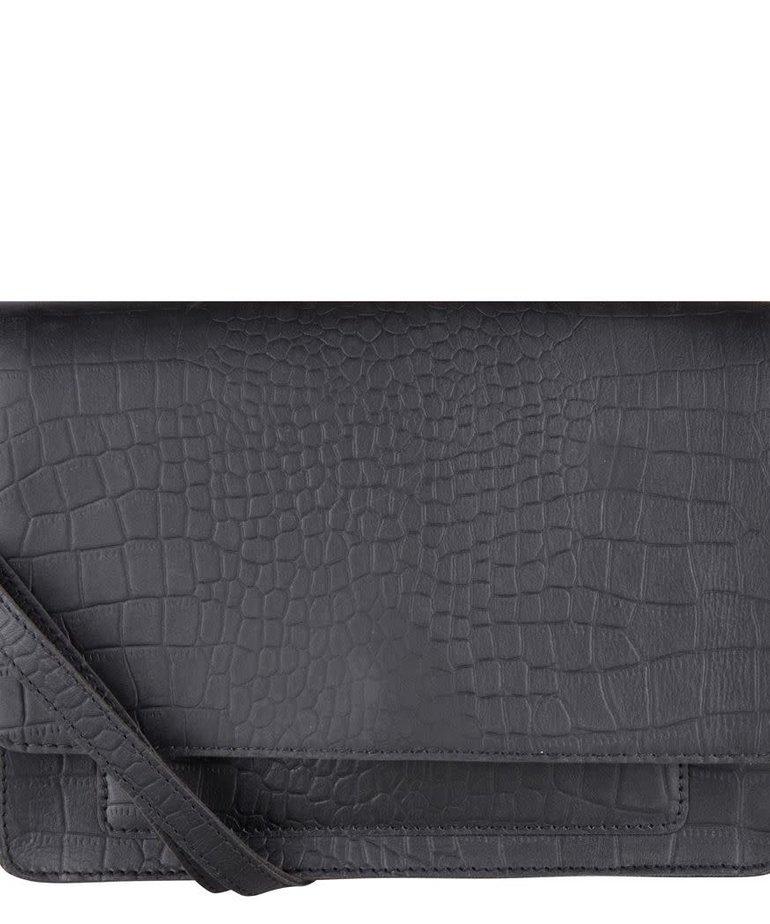 Cowboysbag Cowboysbag, Onyx Croco Black