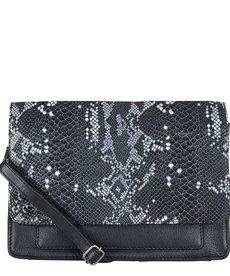 Cowboysbag Bag Onyx Snake Black/White