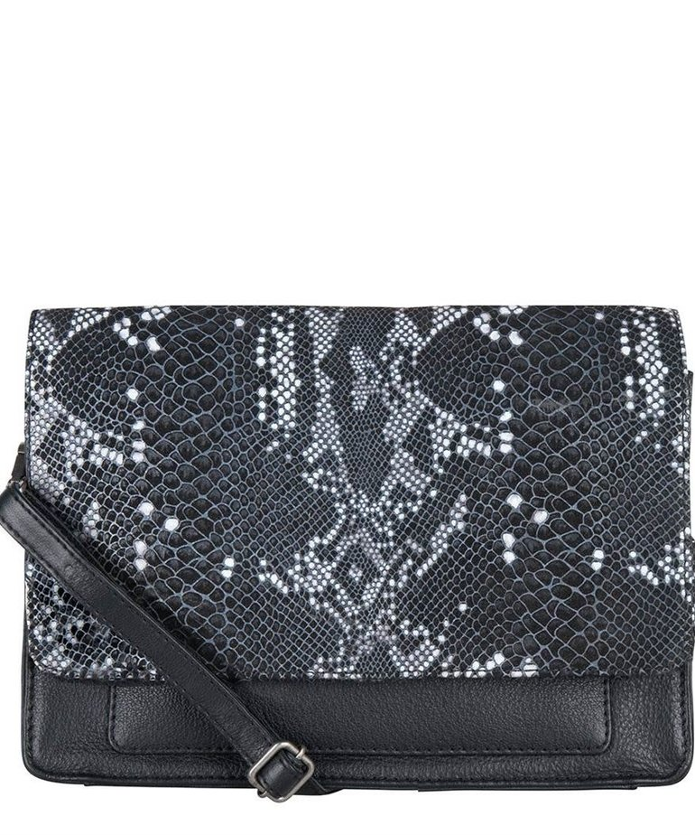 Cowboysbag Cowboysbag, Bag Onyx, Snake Black/White