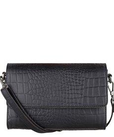 Cowboysbag Bag Topaz Croco Black