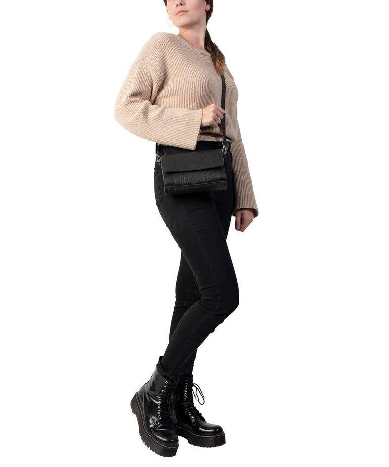 Cowboysbag Cowboysbag, Bag Topaz, Croco Black