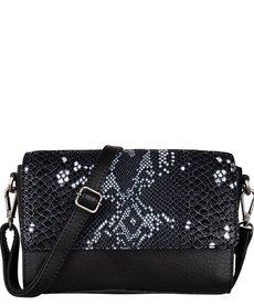 Cowboysbag Bag Topaz Snake Black/White
