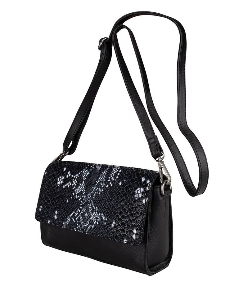 Cowboysbag Cowboysbag, Bag Topaz, Snake Black/White