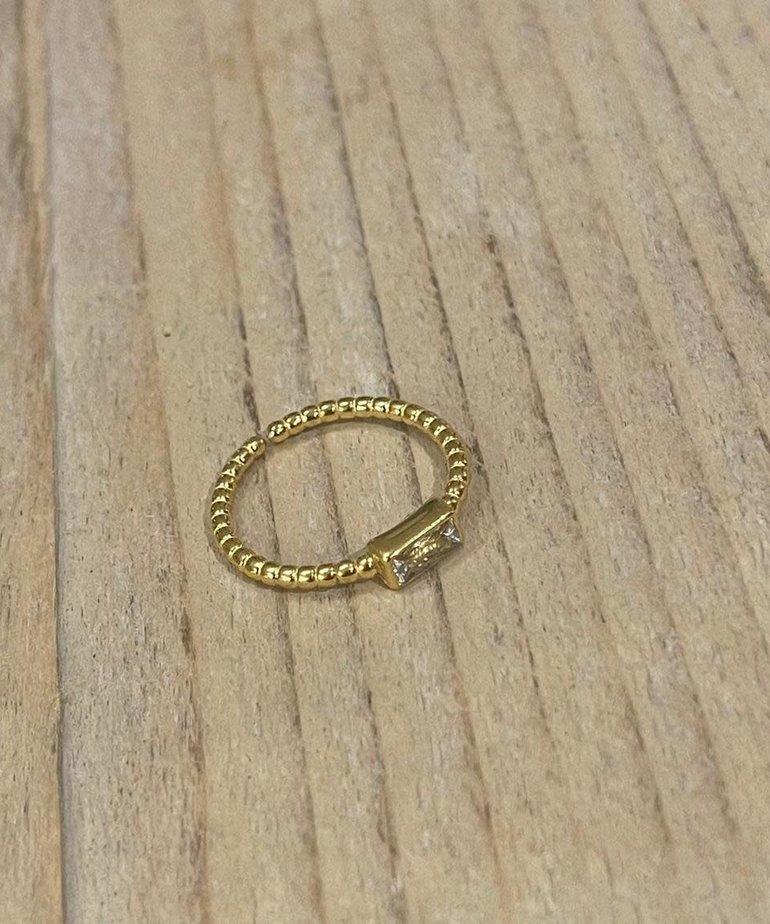 ByJam ByJam Ring Diamant Steentje