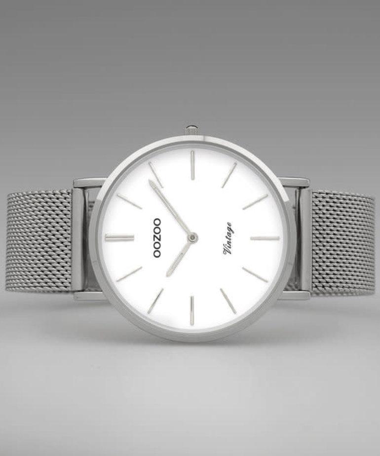 Oozoo Timepieces Oozoo Horloge C9902 Zilver