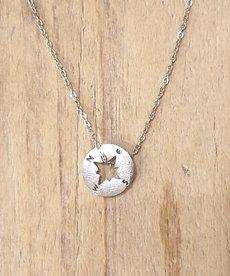 Zag Bijoux Ketting Zilveren Kompas