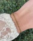 ByJam ByJam Armband Goud Schakel Mini