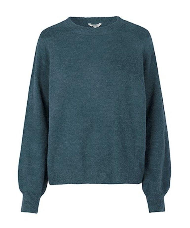 MbyM MbyM Trui Helanor, Ice Knit Blue