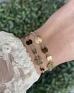 Zag Bijoux Zag Bijoux Armband Gouden Cirkels