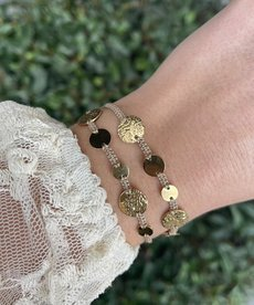 Zag Bijoux Zag Bijioux Armband Gouden Cirkels