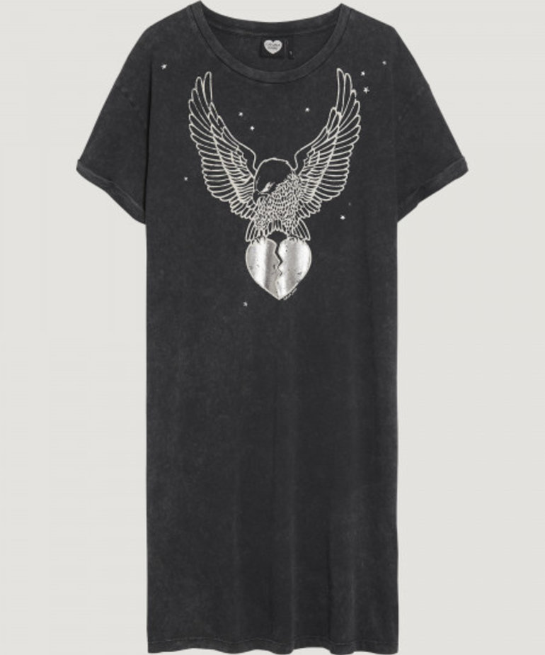 Catwalk Junkie Dress Silver Eagle, Grey