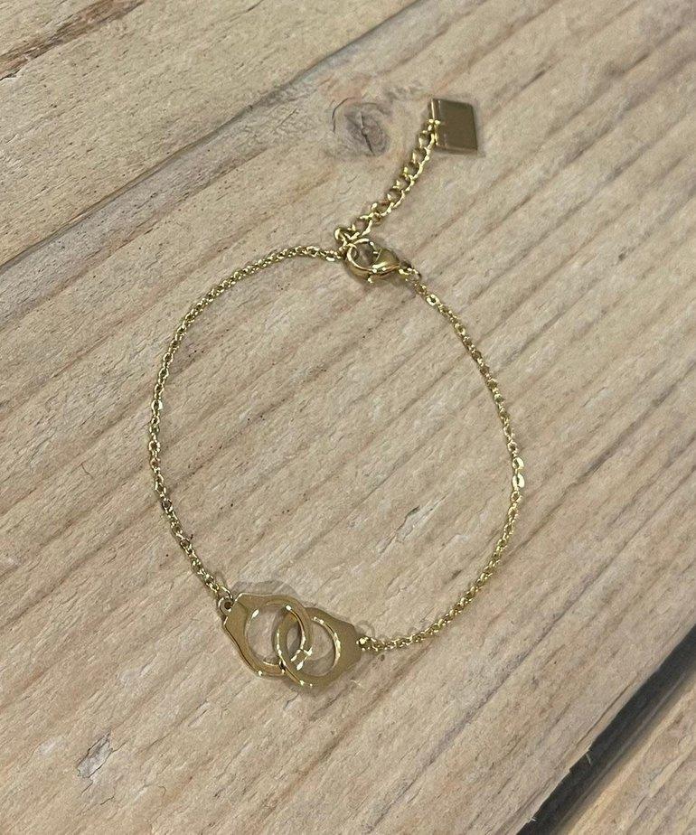 Zag Bijoux Zag Bijoux Armband Gouden Ringen
